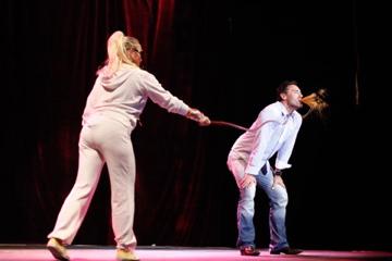 Beatrix & Jenifur, Red Room Cabaret, Zagreb